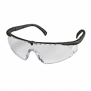Virtua  Scratch-Resistant Safety Glasses, Clear Lens Color