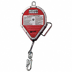 65 ft. Self-Retracting Lifeline with 400 lb. Weight Capacity