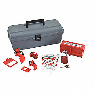 Portable Lockout Kit,Filled,8 Components