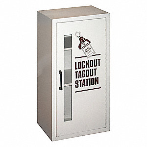 "Lockout Tagout Station, Unfilled, General Lockout/Tagout, 30-1/4"" x 15-1/8"""