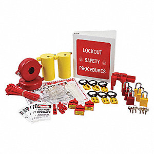 Portable Lockout Kit, Filled, Electrical/Valve Lockout