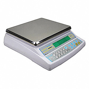 8000g/16 lb. Digital LCD Compact Bench Scale