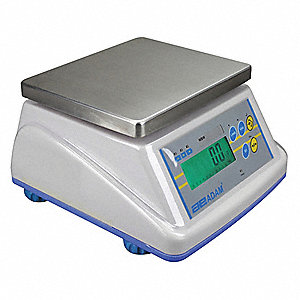 2000g/5 lb. Digital LCD Compact Bench Scale