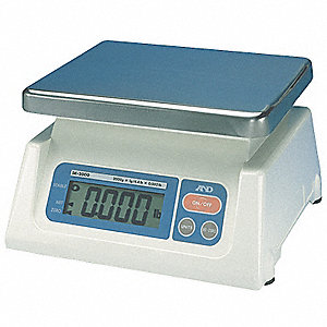 Compact Digital Scale,5000g Cap.