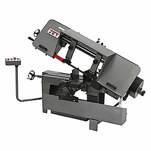 1-1/2 HP Horizontal Band Saw, Voltage: 110/220, Max. Blade Length: 135""
