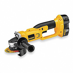 "4-1/2"" Standard Cordless Angle Grinder Kit, 18.0 Voltage, 6500 No Load RPM, Battery Included"