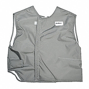 Cooling Vest, Gray, XL