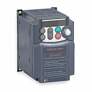 Variable Frequency Drive,1/2 Max. HP,3 Input Phase AC,240VAC Input Voltage