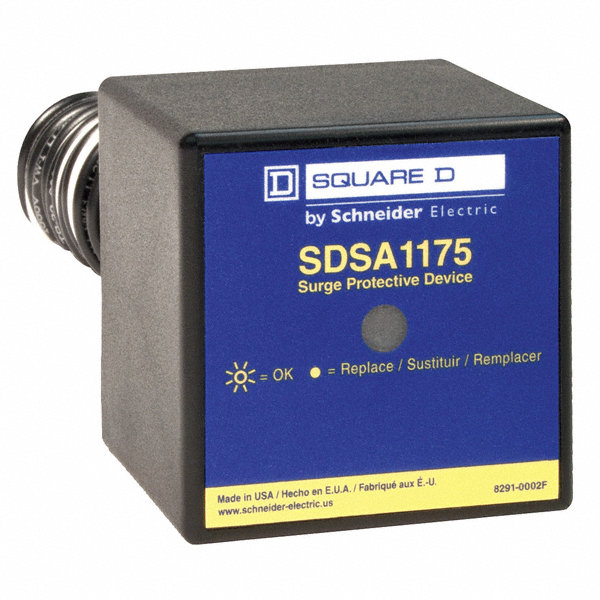 Square D 1 Phase Surge Protection Device  120  240vac