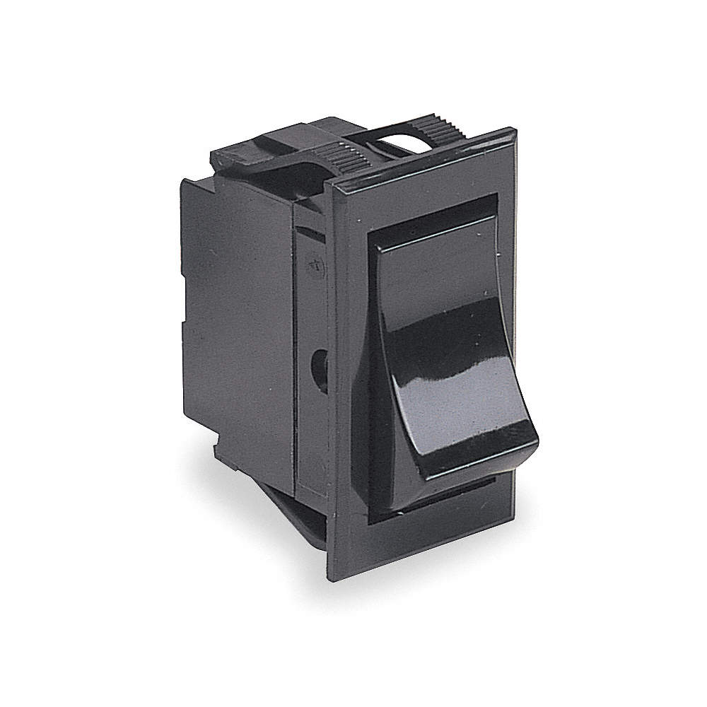 CARLING TECHNOLOGIES Rocker Switch, Contact Form: DPST, Number of ...