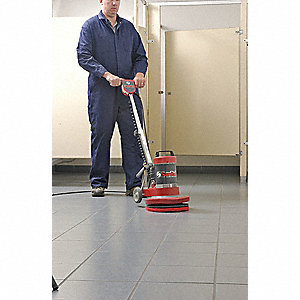 Compact Floor Machine,1/2HP,Steel