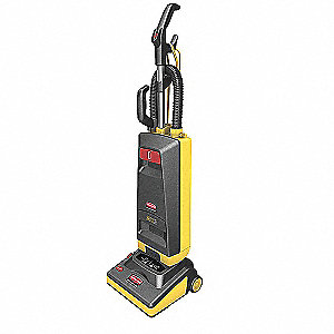 Upright Vacuum,12 In,105 cfm,10A,HEPA