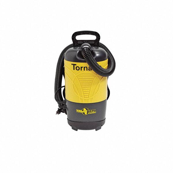 pac-vac 1-1/2 gal. backpack vacuum, 120 cfm, 1-1/2 hp, 12 amps