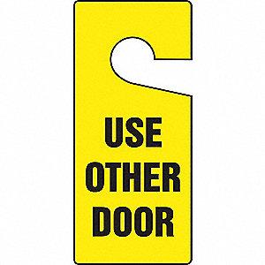 DOOR HANGER TAGS USE OTHER DOOR