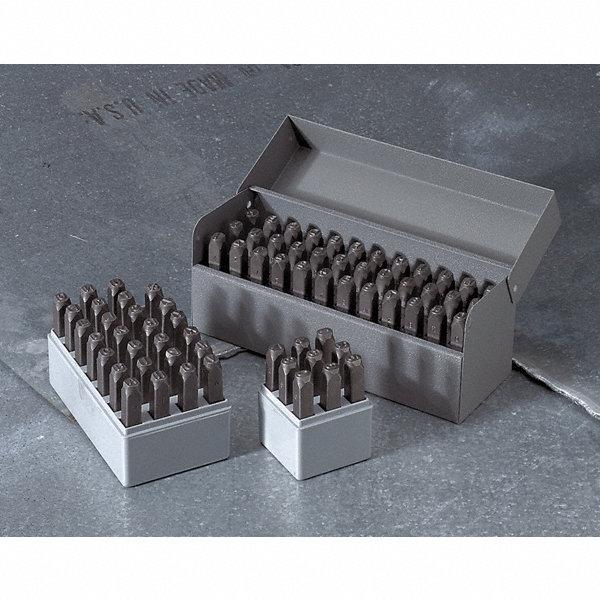 Hanson Letter Set 3 16 Steel 3xfh4 20250 Grainger