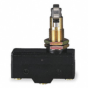 Industrial Snap Switch, SPDT Contact Form, 480VAC Voltage Rating, 15A Current Rating