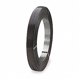 Steel Strapping,20 mil,3/4 In. W