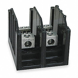 Power Distribution Block, 175 Max. Amps, Number of Poles: 2