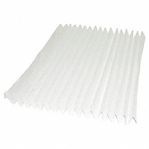 12x24x2, MERV 7, High Capacity Pleated Filter, Frame Included: No