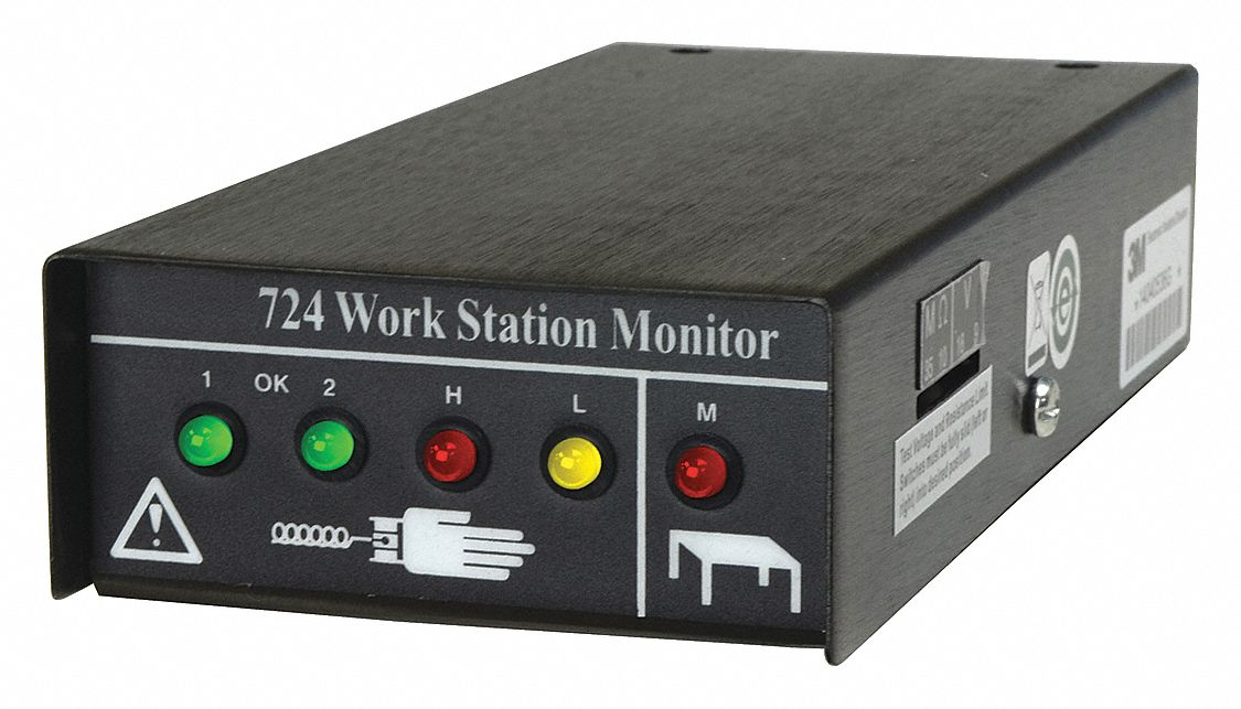 Wrist Strap Workstation Monitor
