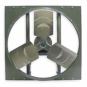 Exhaust Fan D/D,12 In,115/230 V