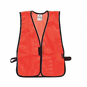 Hi Vis Vest,Unrated,Universal,Orange