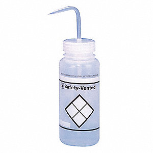 WASH BOTTLE,POLYPROPYLENE,PK 3