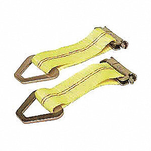 Logistic Tie-Off Strap,7x2 In,2000lb,PK2