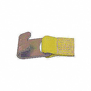 Tie Down Strap,Ratchet,Poly,27 ft.