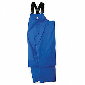 Rain Pants,Royal Blue,2XL