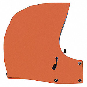 Gortex® Drawstring Rain Hood, Orange