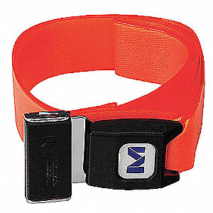 "Stretcher Strap,  Orange,  5 ft. Length,  3"" Width,  2"" Height"