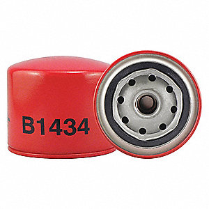 "Spin-On Oil Filter, Length: 3-1/4"", Outside Dia.: 3-11/16"", Micron Rating: 20"