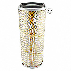 "Air Filter, Conical, 15-1/2"" Height, 15-1/2"" Length, 5-15/16"" to 7"" Outside Dia."