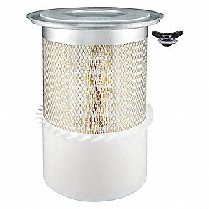 "Air Filter, Round, 16-1/2"" Height, 16-1/2"" Length, 9-13/16"" Outside Dia."