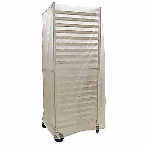 Plastic Rack Cover,80 x 53 In.,PK50