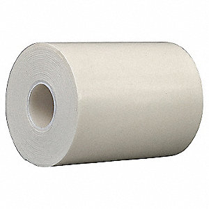 Double Coated Tape,6 In x 5 yd.,White