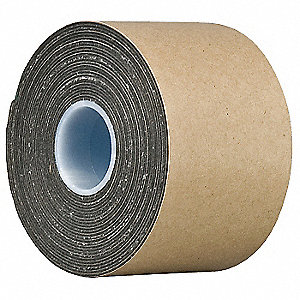 Double Coated Tape,12 In x 5 yd.,Black