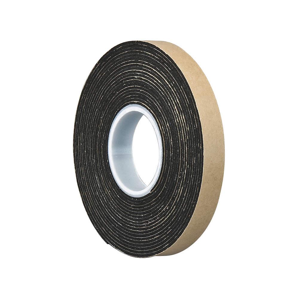 Polyethylene Foam Double Sided Foam Tape, Acrylic Adhesive, 1/16