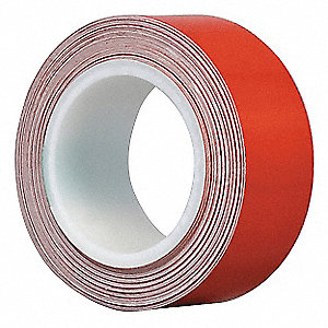 "Reflective Marking Tape, Solid, Roll, 1"" x 15 ft., 1 EA"