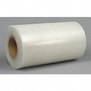 "Polyethylene Masking Tape, Acrylic Tape Adhesive, 3.00 mil Thick, 12"" X 1000 ft., Clear, 1 EA"