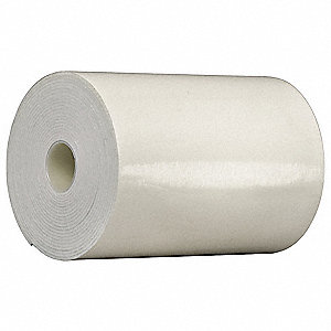 "Acrylic Foam Double Sided VHB Foam Tape, Acrylic Adhesive, 120.00 mil Thick, 6"" X 5 yd., White"