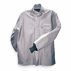 Flame-Resistant Jacket,Gray,M