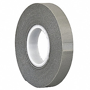 "Acrylic Foam Double Sided VHB Foam Tape, Acrylic Adhesive, 45.00 mil Thick, 3/4"" X 5 yd., Gray"