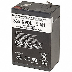 ABS Battery, Voltage 6, Battery Capacity 4.6Ah