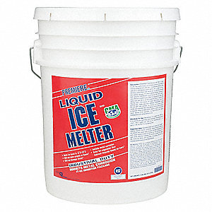 Colorless Liquid Ice Melt, -20° F Effective Temp., Size: 5 gal., Pail Package Type