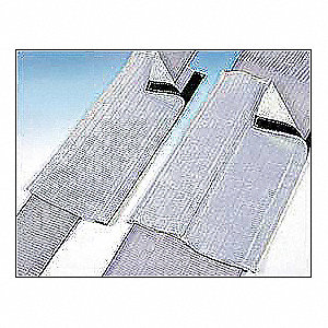 Durable Webbing Recovery Strap Pad, Gray for Web Slings