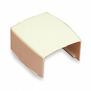 PVC Cover Clip For Use With PN03 Raceway, Ivory
