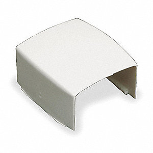 PVC Cover Clip For Use With PN10 Raceway, Ivory
