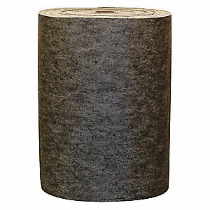 Medium Absorbent Roll, Fluids Absorbed: Universal / Maintenance, 125 ft. Length